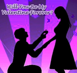 Will you be my Valentine Forever , propose day,valentine day