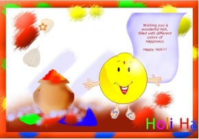 wishing you a wonderful holi filled with different colours of happiness HAPPY HOLI !!!!!! , happy holi,colorful holi,holi festival,holi wishes,holi greetings