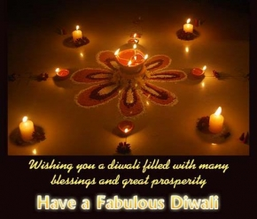 wishing you a diwali filled with many blessings and great prosperity , happy diwali, diwali greetings, deepawali wishes