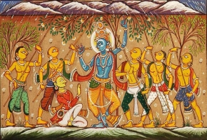 shri-krishna-govardhan-parvat-painting , lord krishna,lord krishna wallpapers hd,death of lord krishna,lord krishna quotes,lord krishna mantra,lord krishna pictures