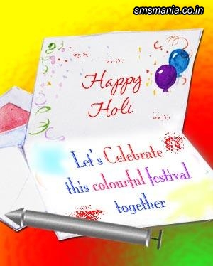 Let's Celebrate This Colourful Festival TogetherHoli
