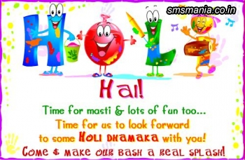 Time For Masti And Lots Of Fan Too.. Time For Us To Look Forward To Some Holi Dhamaka With You! Holi