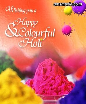 Wishing You A Happy And Colour Flul HoliHoli