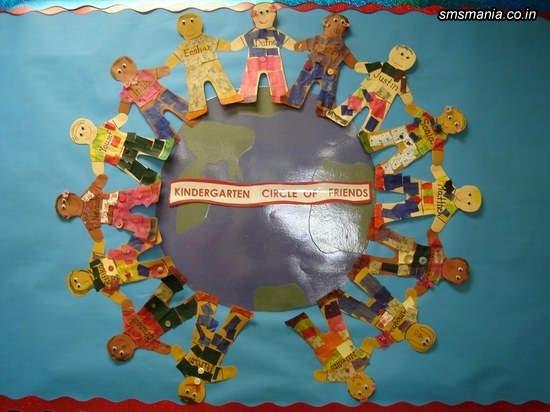 Kindergarten Circle Of FriendsBack To School