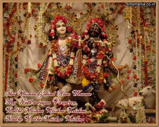 Shri Krishna Gobind Hare Murare Hey Nath Narayan Vasudeva, Radhe Krishna Krishna Krishna Radhe Radhe Krishna KrishnaKrishna Janmasthami