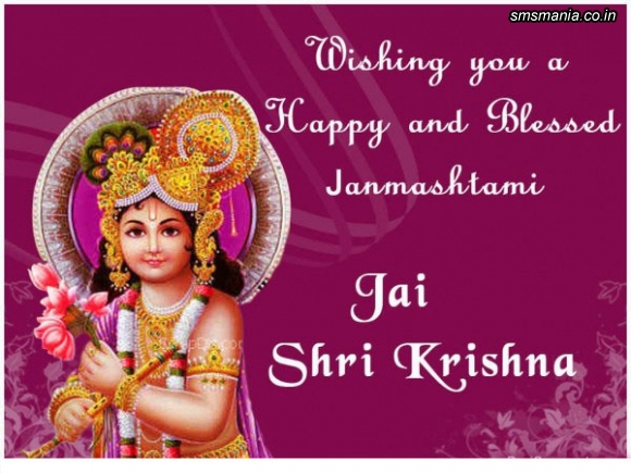 Wishing You A Happy And Blessed Janmashtami Jai Shri KrishnaKrishna Janmasthami