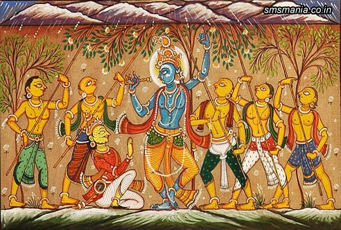 Shri-krishna-govardhan-parvat-paintingKrishna Janmasthami