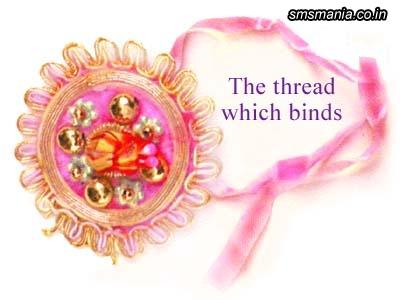 The Thread With Binds RakhiRaksha Bandhan